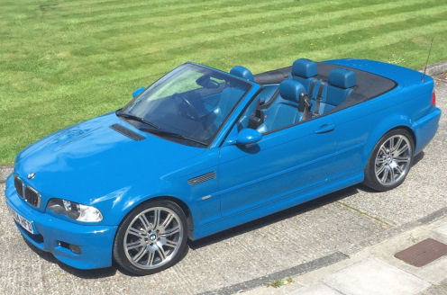 BMW E46 M3 Car Valet