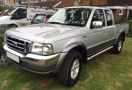 Ford Ranger Super Cab Car Valet