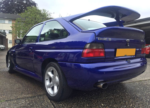 RS Cosworth Car Valet